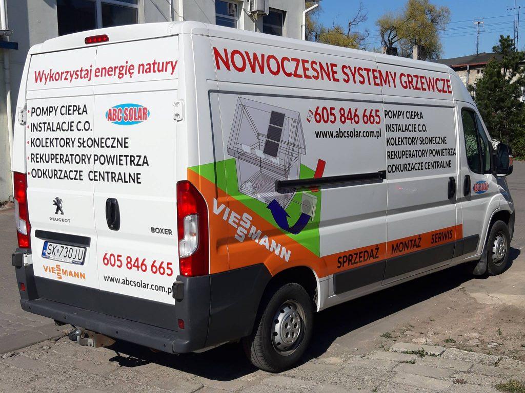 ABC Solar - Pojazd